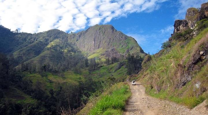 Landschap Papoea-Nieuw-Guinea