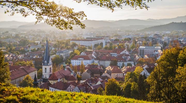 Herfstkleuren in Slovenië