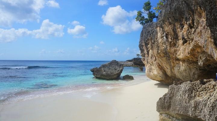 Hagelwitte stranden in Bonaire