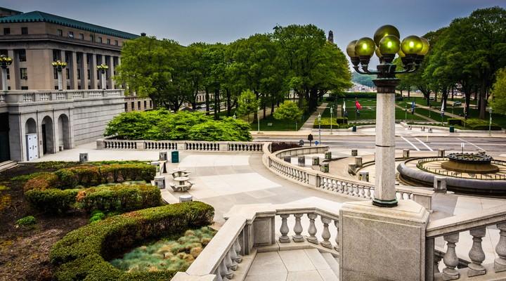 Capitol Complex in Harrisburg, Pennsylvania