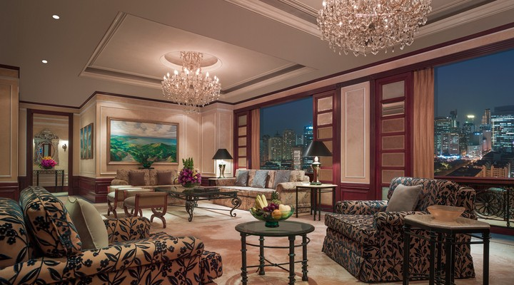 De 'Presidential Suite' in Shangri-La Makati