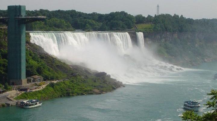 Niagara watervallen, Niagara Falls