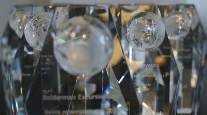 De glazen awards
