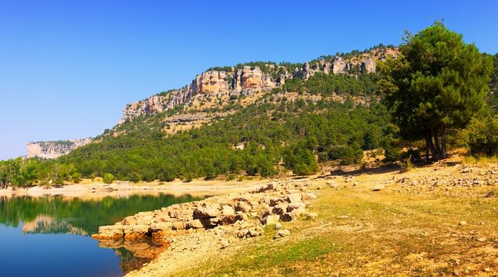 Rotsachtig landschap Cuenca - Spanje