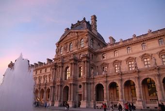 Louvre Parijs, hoofdstad Frankrijk