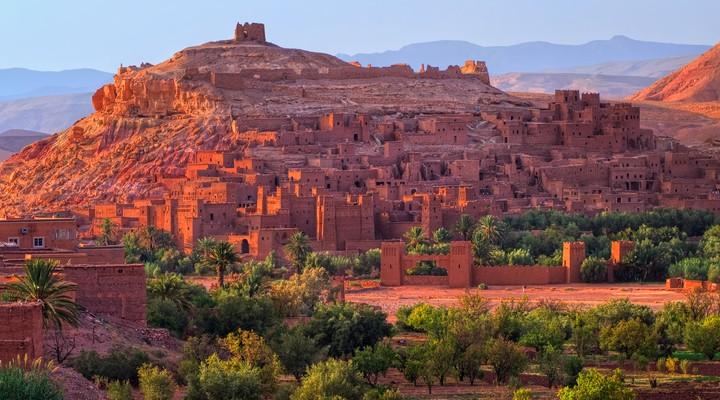 Bezienswaardigheid in Marokko: Kasbah Ait Benhaddou