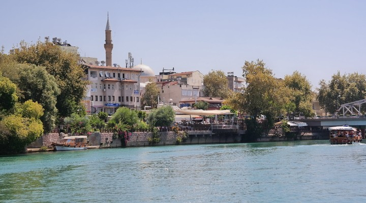 Centrum Manavgat, Side, Turkije