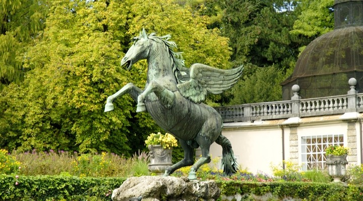 Pegasus Fountain, setting van the Sound of Music