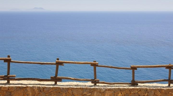Uitzicht op Gavdos vanaf Kreta
