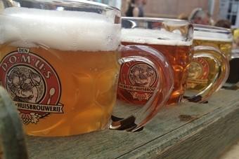 Kuieren en bier proeven in Leuven