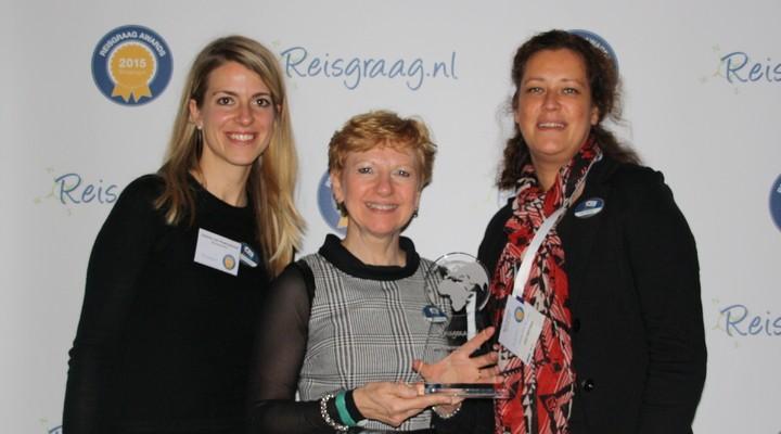 Coby van Dongen, Reisgraag awards 2015