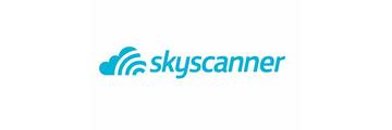 Logo van Skyscanner
