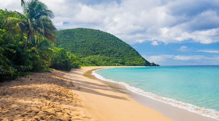 Anse la Perle strand op Guadeloupe