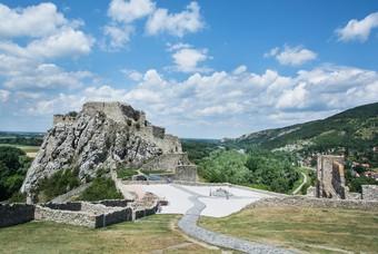 Kasteel Devin, Slowakije