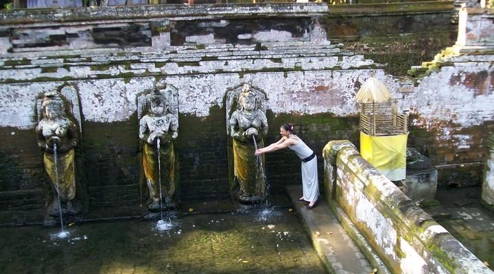Fontein in de tempel