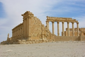 Rondreizen in Syrië, ruïne