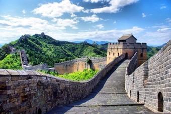 De beroemde Chinese Muur