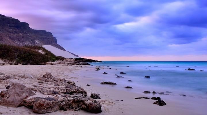 Het Aden strand in Jemen