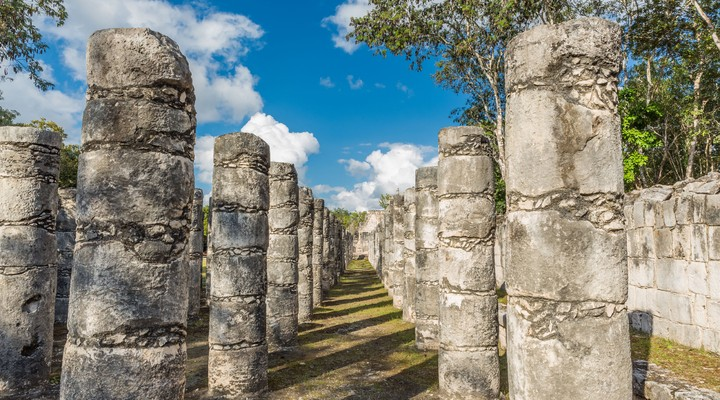 Tempel van de Duizend Strijders, Chichén Itzá