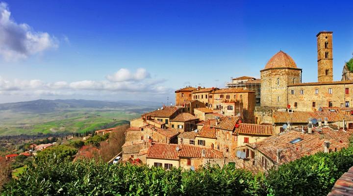 Volterra, Middeleeuwse stad in Toscane