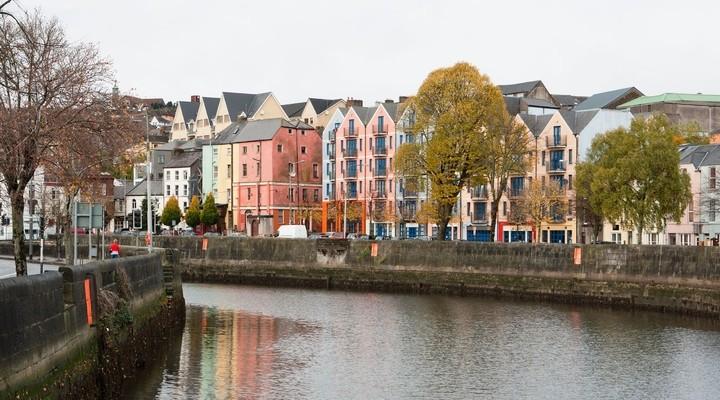 St Patricks Quay, Cork, Ierland
