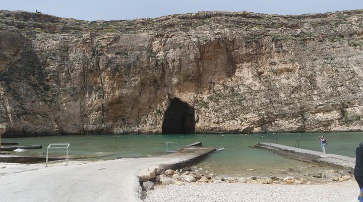 De Inland Sea bij Dwejra