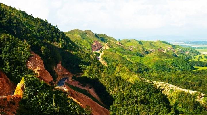 Berglandschap Dominicaanse Republiek
