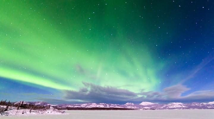 Noorderlicht in Yukon, Canada