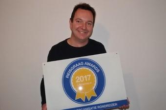 Eilandhoppen op maat wint Reisgraag Award 2017