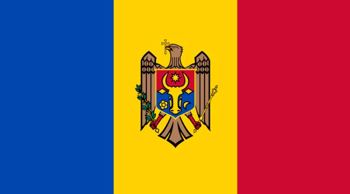 Huidige vlag van Moldavië