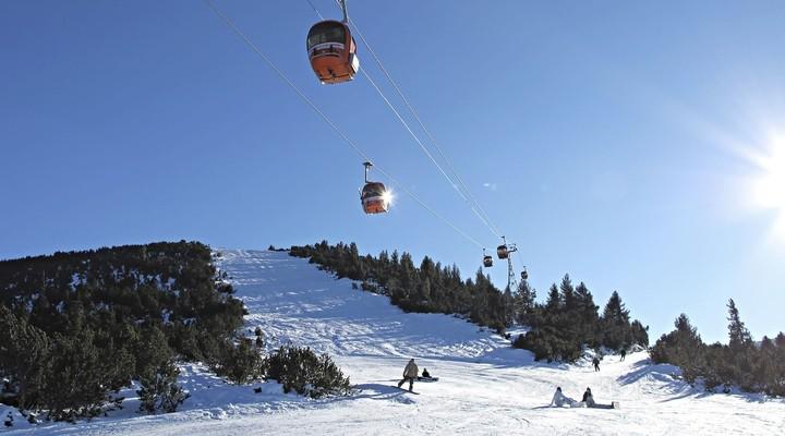 Skigebied Borovets in Bulgarije