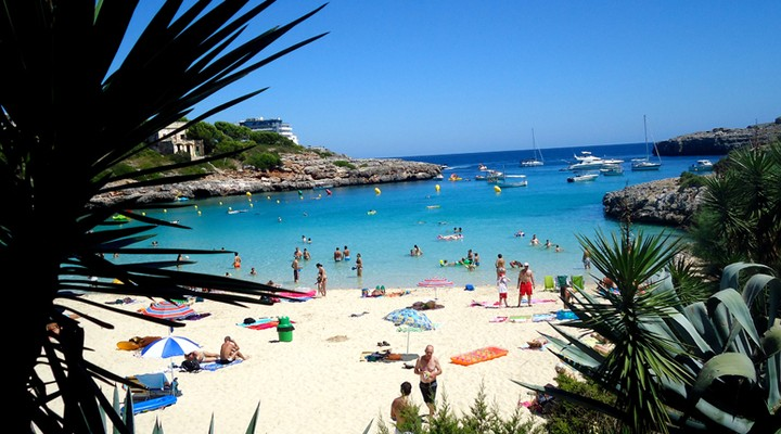 Strand op Mallorca