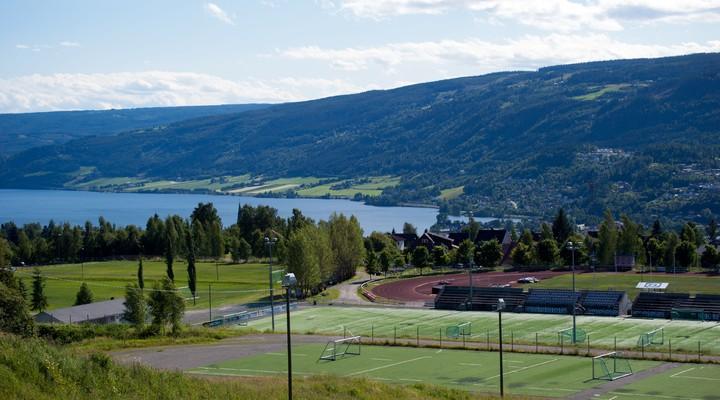Sportvelden Lillehammer, Noorwegen