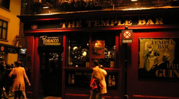 Een traditionele Ierse pub