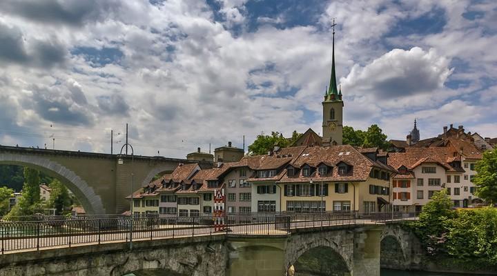 De oude binnenstad van Bern