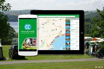 ACSI ontwikkelt speciale offline campingapp