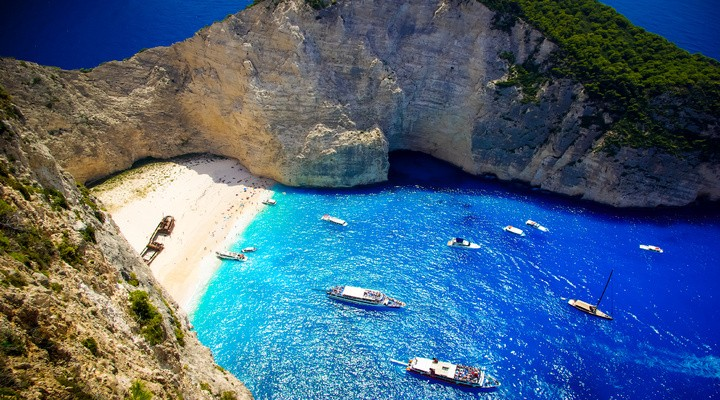 Navagio Beach, Zakynthos, Griekenland