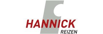 Logo van Hannick Reizen