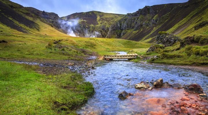 Warmwaterbronnen Hveragerdi, IJsland