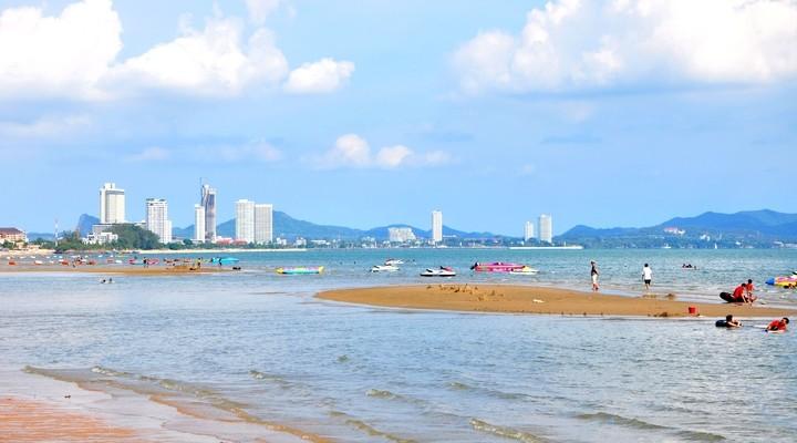 Strand van Jomtien, Thailand