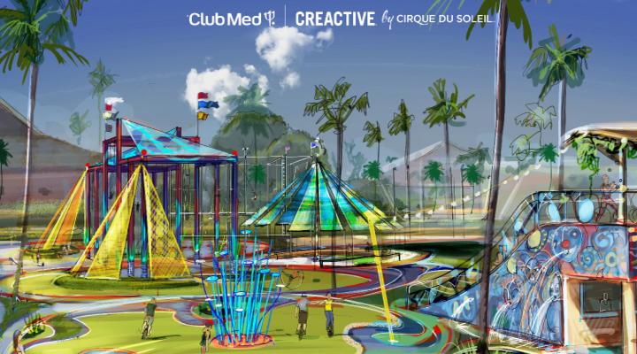Het nieuwe speelpark van Club Med