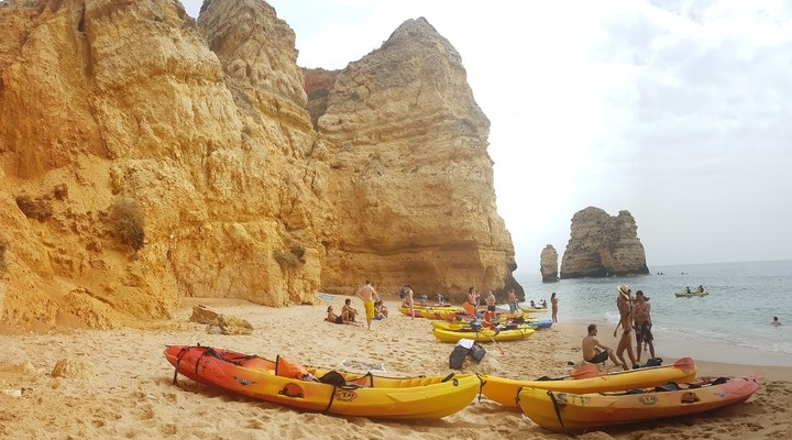 Even tot rust komen op Praia da Balanca