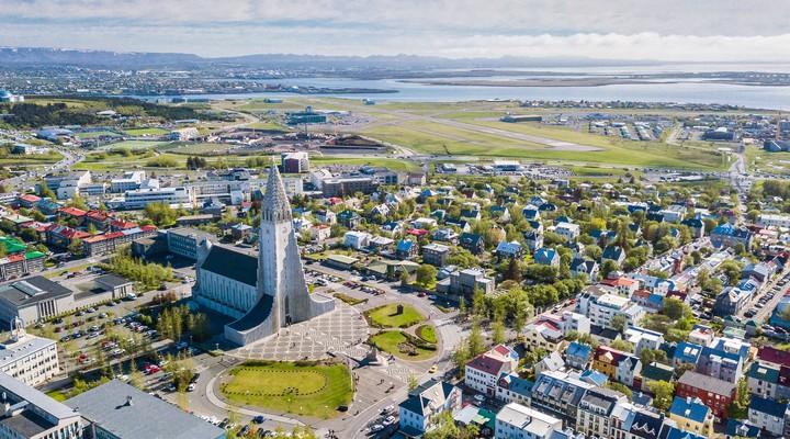Skyline Reykjavik, IJsland