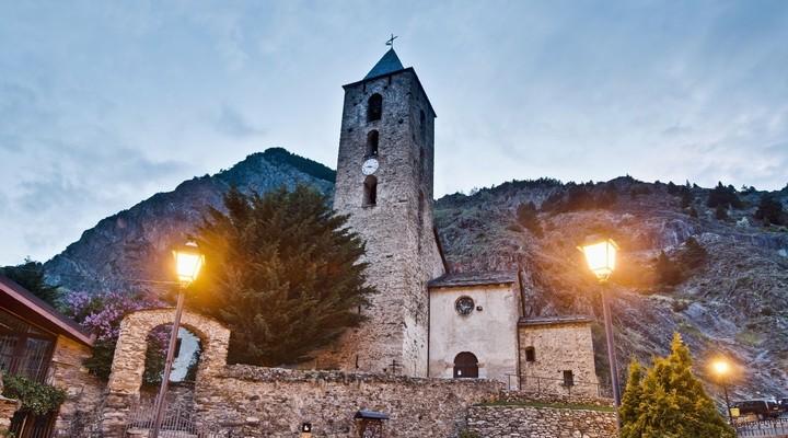 Kerk in Canillo, Andorra