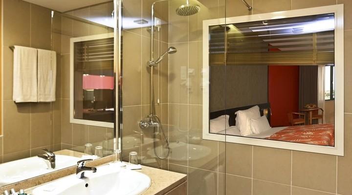 Badkamer van Executive Sea View