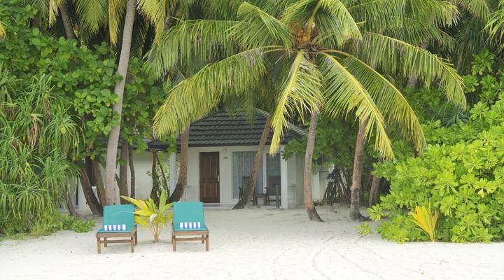 Villa aan het strand