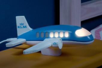 KLM komt met nieuw initiatief: Het Nachtjeslampje
