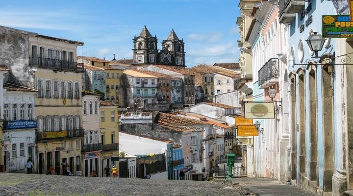 Het oude centrum van Salvador