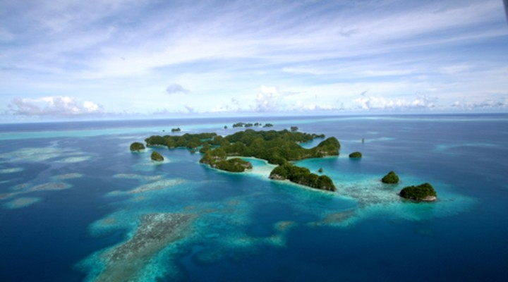 de eilanden van Micronesië