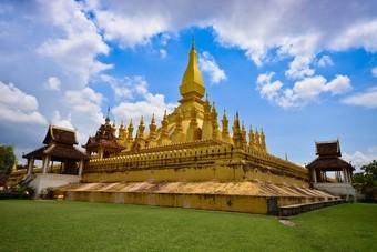 Vientiane, stad in Laos